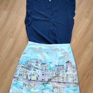 Bay studio skirt